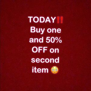 TODAY ONLY ‼️‼️‼️